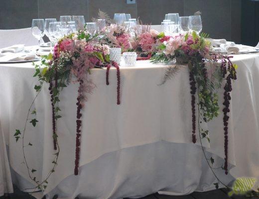 decoración boda sansui